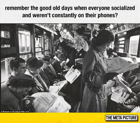 Is VR anti-social?-funny-old-photo-reading-newspaper-bus-1.jpg