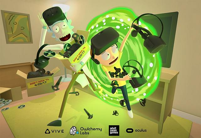 Rick and Morty are coming to Oculus Rift and HTC Vive on April 20!-rick.jpg
